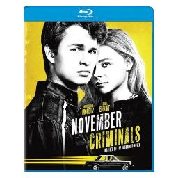 November criminals (blu ray) BR52409
