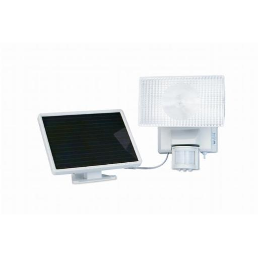 Solar-Powered 50 LED Motion-Activated Outdoor Security Floodlight