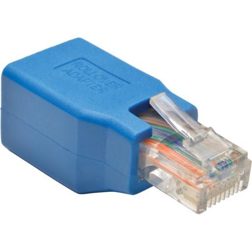 Tripp lite n034-001 cisco serial console rollover adapter rj45 ethernet patch cable