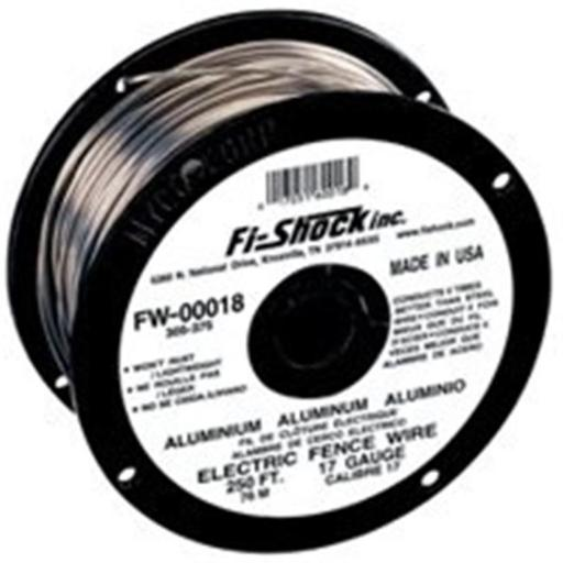 Fi-Shock FW-00001T 17 Gauge Aluminum Fence Wire 1320 Ft.