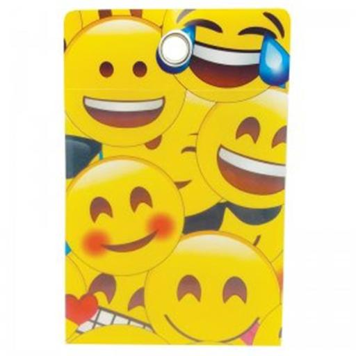 Ashley Productions ASH90255 4 x 6 in. Pockets Emojis Grommett Hole Poly Clear Front - 30 Piece IKRVGSRIBHGMICHD