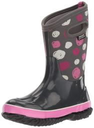 Bogs Baby Girl Classic High HA Rubber Pull On Ankle High Boots