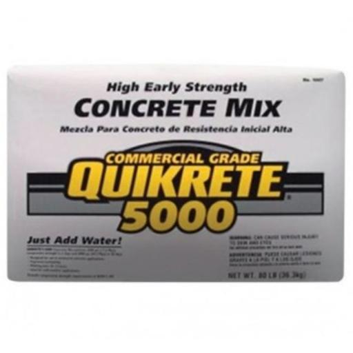 Quikrete 100700 80 lbs 5000 Concrete Mix