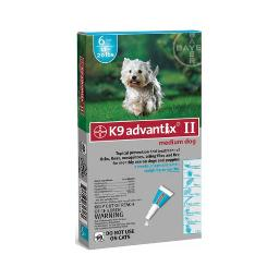 Advantix Advx-Teal-20-6 Advantix Flea And Tick Control For Dogs 10-22 Lbs 6 Month Supply