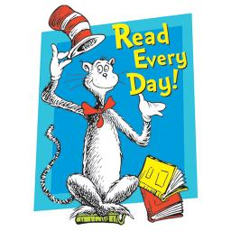 Eureka cat in the hat read every day 836024
