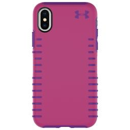 Under Armour Protect Grip Case for iPhone X/XS Tropic Pink/Purple Rave