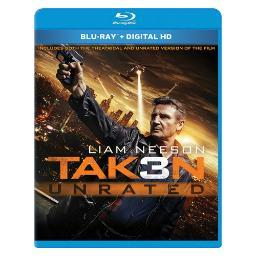 Taken 3 (blu-ray/digital hd/ws-2.39) BR2299787