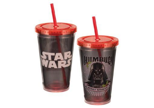 Star wars 18 oz acrylic travel cup darth vader humbug nla