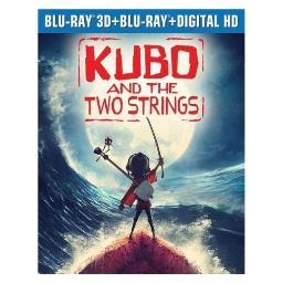 Kubo & the two strings (3d/blu ray/blu ray w/digital hd) (3d) BR62183121