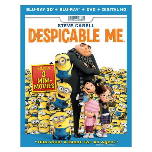 Despicable me (3d blu ray/br/dvd w/digital copy/ultrav) (3-d) S2A4DADYQBOG3NJM
