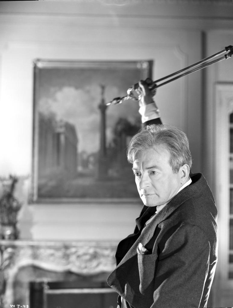 A Publicity Still Of Claude Rains Photo Print