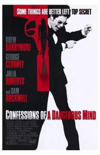 Confessions of a Dangerous Mind Movie Poster (11 x 17) 9DVVZ4FA6LU7EQJW
