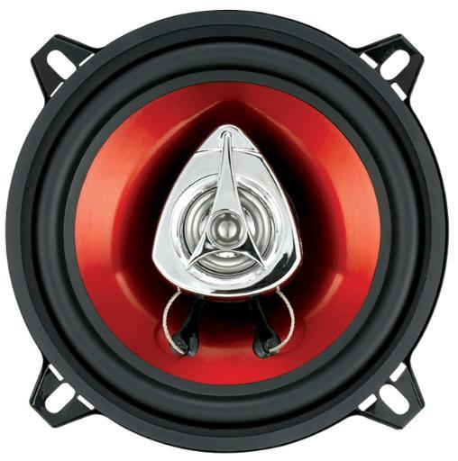 Boss Audio Boss 5-1/4 Speaker 2-Way Red Poly Injection Cone Ch5520