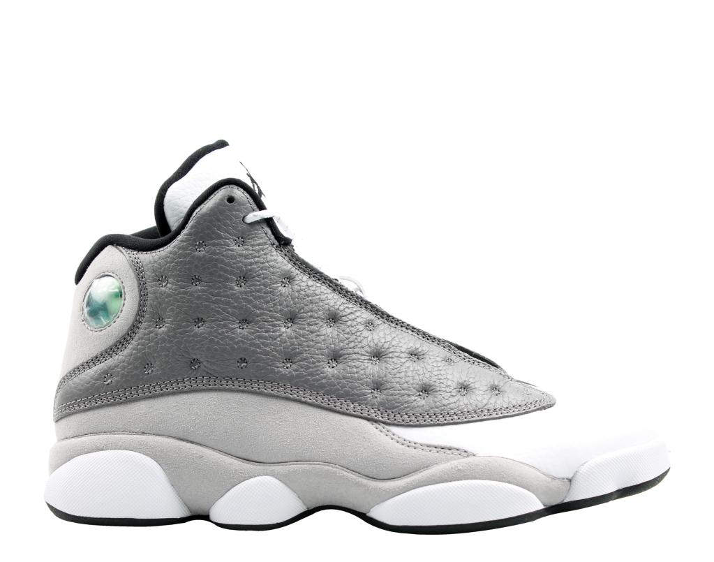 cheap for discount bc044 6a901 JORDAN Nike Air Jordan 13 Retro Atmosphere Grey Men s Basketball Shoes  414571-016 XIII   massgenie.com