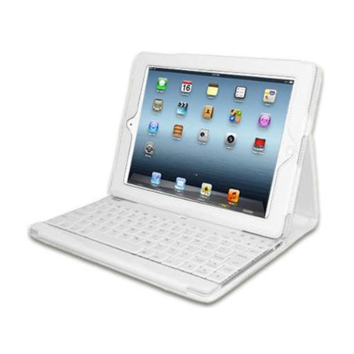 Adesso Wkb-1000Dw Compagno 3 - Bluetooth Scissor-Switch Keyboard With Carrying Case For Ipad (Whit