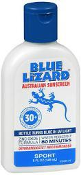 Blue Lizard Australian Sunscreen Spf 30+ Sport - 5 Oz