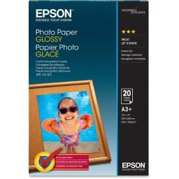 Epson print s041143 epson photo paper photo paper - super b (13 in x 19 in) - 194 g/m2 - 20 sheet(s) S041143