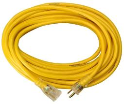 Yellow Jacket 2887ac Commercial Extension Cord, 50', Yellow