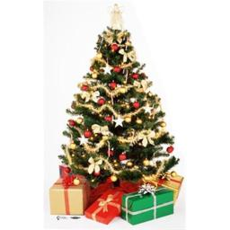 Advanced Graphics 707 Christmas Tree Life-Size Cardboard Stand-Up