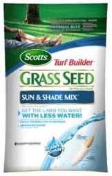 Scotts 18221 Turf Builder Sun And Shade Mix Grass Seed, 7 Lbs