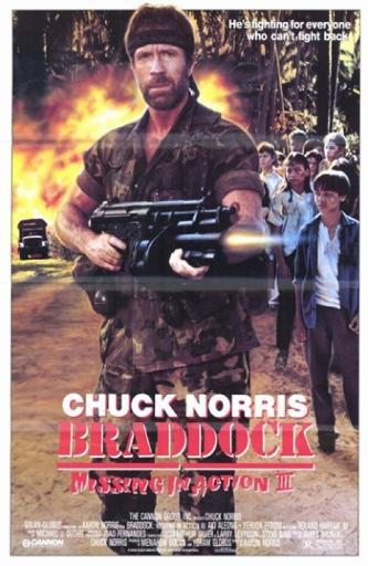 Braddock Missing in Action 3 Movie Poster (11 x 17) 1155109