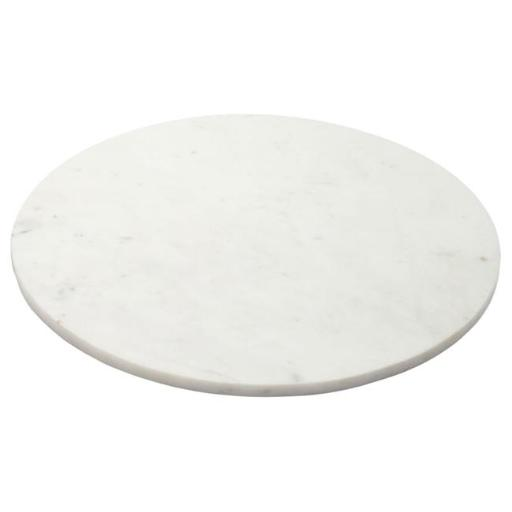 Amber Home Goods ANC-005 Marble Round Cheese & Cutting Board