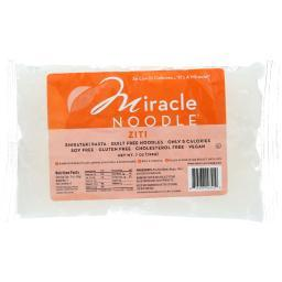 Miracle Noodle Pasta - Shirataki - Miracle Noodle - Ziti - 7 oz - case of 6