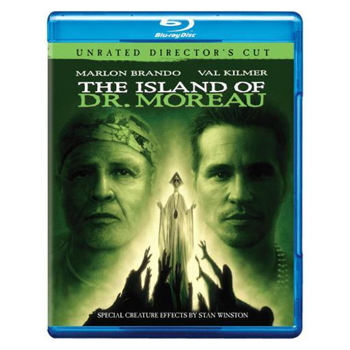 Island of dr moreau (blu-ray/unrated directors cut) 1284282