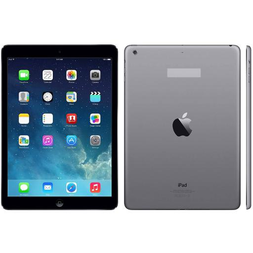 """Apple iPad Air 9.7"""" WiFi 64GB iOS Tablet - Space Gray W/ Removed Etching On Back JD1DU8ZZVRDXDUGM"""