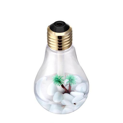 Mini USB Bulb Humidifier and Air Purifier with LED Lights 82YF6E7HCZ8OVAYV
