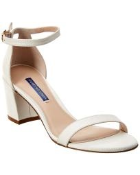Stuart Weitzman Simple Leather Sandal