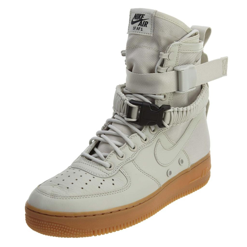 purchase cheap 4aa44 fb852 Nike W Sf Af1 light bone Womens Style  857872