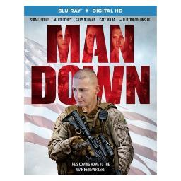 Man down (blu ray w/digital hd) (ws/eng/eng sub/span sub/eng sdh/5.1 dts-hd BR51683