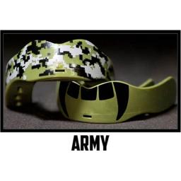 Digital Camo Mouthguard - 2 Pack - Army Green