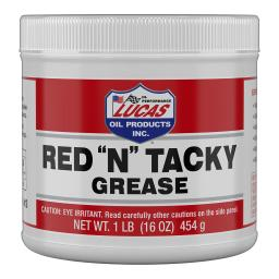 Lucasoil 10574 lucas oil red n tacky grease 1lb tub