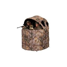 Ameristep amebl2001 deluxe tent chair blind in realtree edge