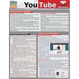 BarCharts 9781423220251 Youtube Marketing Quickstudy Easel