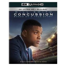 Concussion (blu-ray/4k-ultra hd master/2015/ultraviolet combo pack/2 disc) BR47406