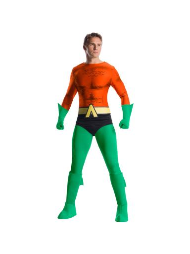 Mens Aquaman Costume Men XL (46-48),Men XS, Men S (36-38),Men M (40-42),Men L (42-44)