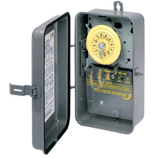 Intermatic T101R Timer Switch With Case 40A-120V