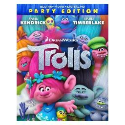 Trolls (blu-ray/dvd/digital hd) BR103470