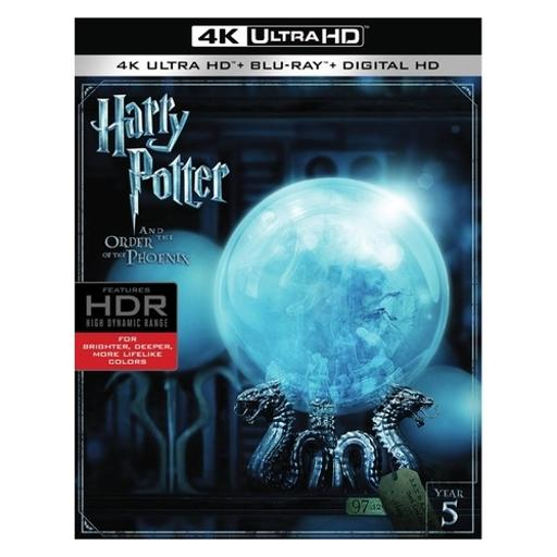 Harry potter & the order of the phoenix (blu-ray/4k-uhd/digital hd) ZLYPYHAP4T0VMQZJ