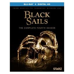 Black sails-season 4 (blu ray/3discs) BR52481