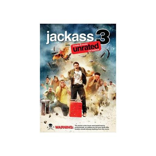 JACKASS 3 (DVD/SINGLE DISC/RATED AND UNRATED VERSIONS) D90AA072483C3E9A
