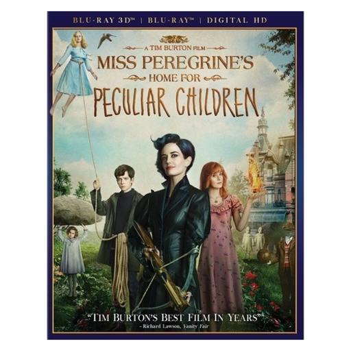 Miss peregrines home for peculiar children (blu-ray/3d/dhd) (3-d) BLWC9XFRMWHHHBTY