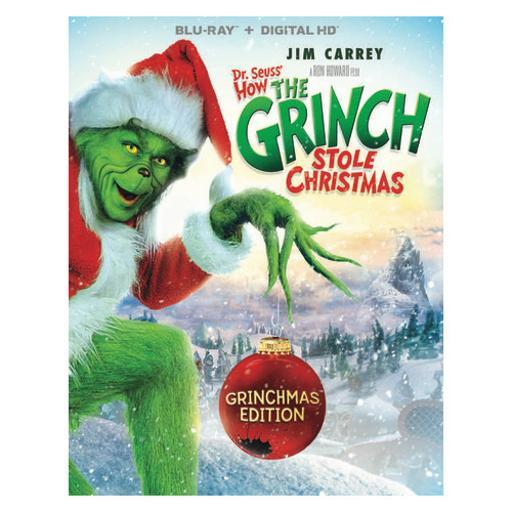 Dr seuss-how the grinch stole christmas-grinchmas edition (blu ray w/hd) KQKSXTRCHGVQXTFL