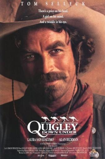 Quigley Down Under Movie Poster (11 x 17) PCXKJLJ3FNCSOEQD