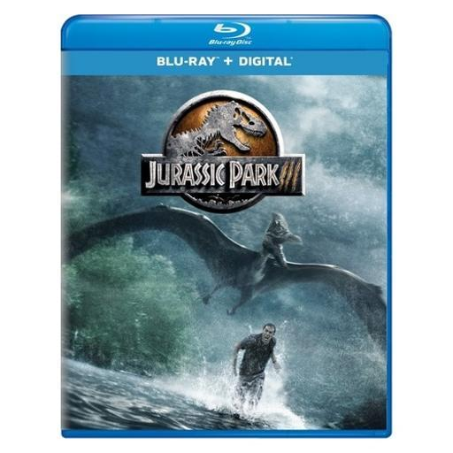 Jurassic park 3 (blu ray w/digital) (new packaging) 62QXUPXAV8YS63XJ