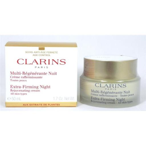 Clarins 1.7 oz Extra Firming Night Cream for all Skin Types