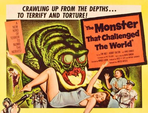 The Monster That Challenged The World Audrey Dalton Tim Holt 1958 Movie Poster Masterprint PE8V8XZYYQ8UXWXD